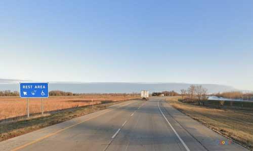 nd interstate 29 north dakota i29 alexander henry rest area mile marker 178 northbound off ramp exit