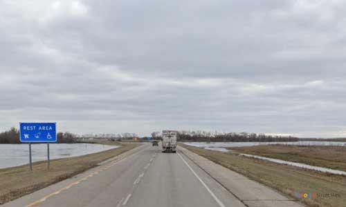 nd interstate 29 north dakota i29 alexander henry rest area mile marker 178 southbound off ramp exit