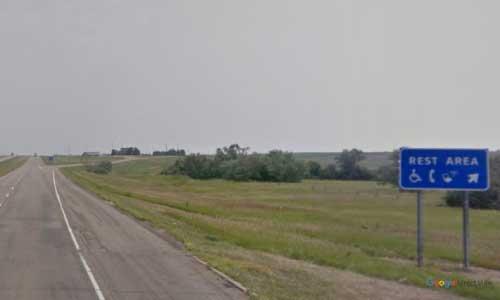 nd interstate 94 north dakota i94 apple creek rest area mile marker 168 eastbound off ramp exit