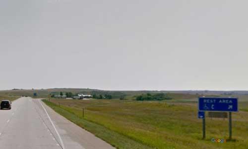 nd interstate 94 north dakota i94 hailstone creek rest area mile marker 119 eastbound off ramp exit