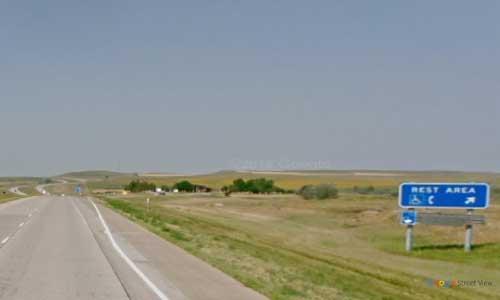 nd interstate 94 north dakota i94 hailstone creek rest area mile marker 119 westbound off ramp exit