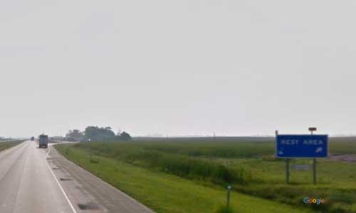 nd interstate 94 north dakota i94 jamestown rest area mile marker 254 westbound off ramp exit