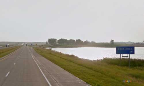 nd interstate 94 north dakota i94 medina springs rest area mile marker 223 westbound off ramp exit