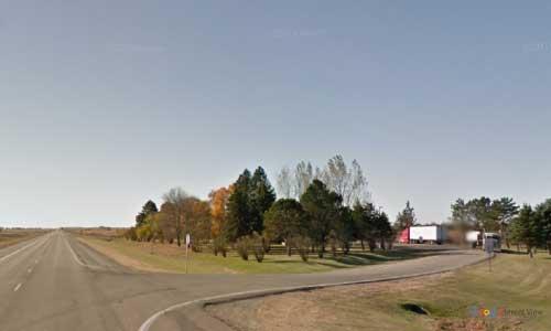 nd us route 281 north dakota us281 edgeley rest area mile marker 39 entrance